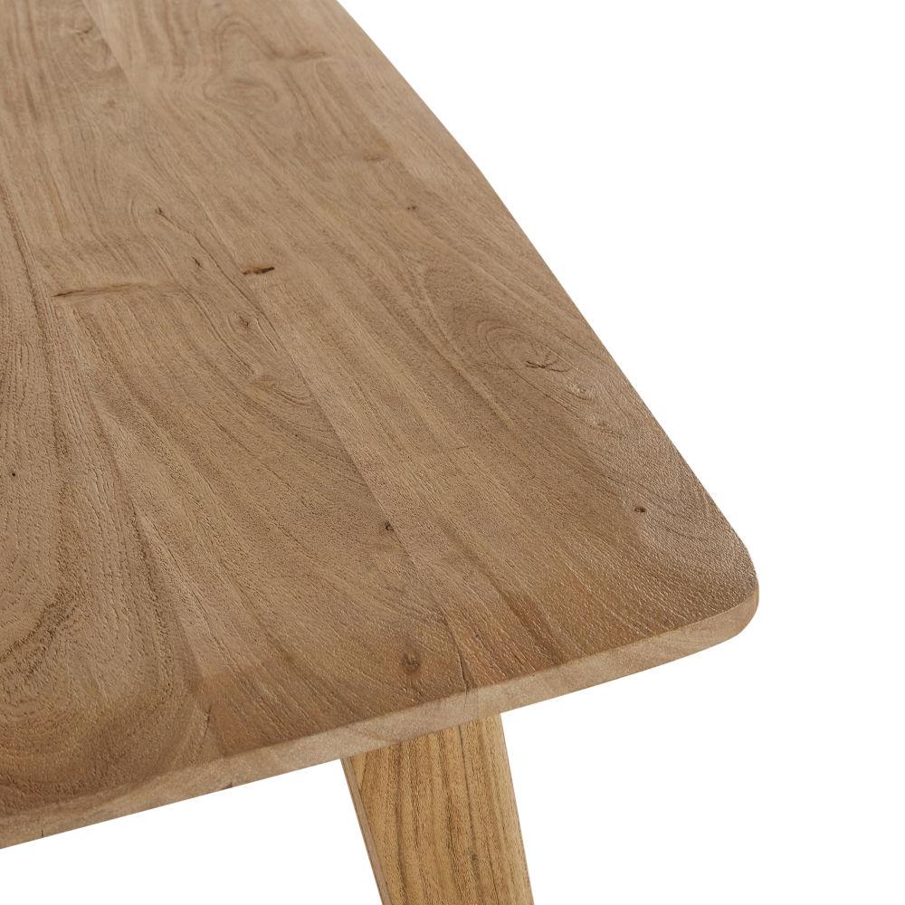Table à manger en acacia massif 8/10 personnes L200
