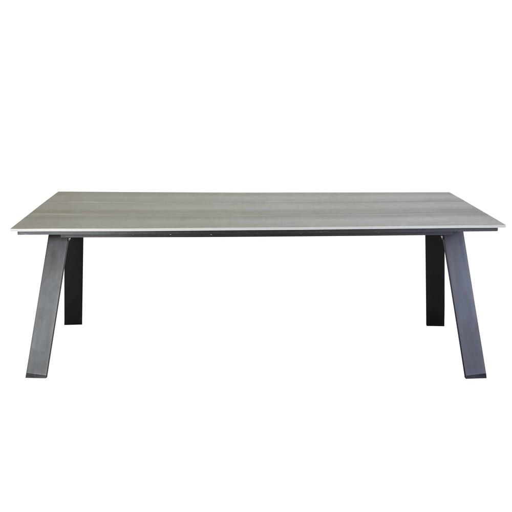 Table de jardin 6/8 personnes en composite L220