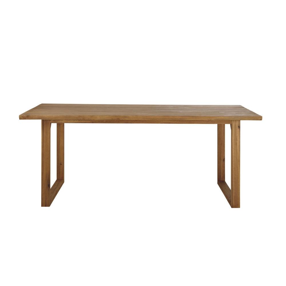 Table de jardin en acacia 8/10 personnes L190