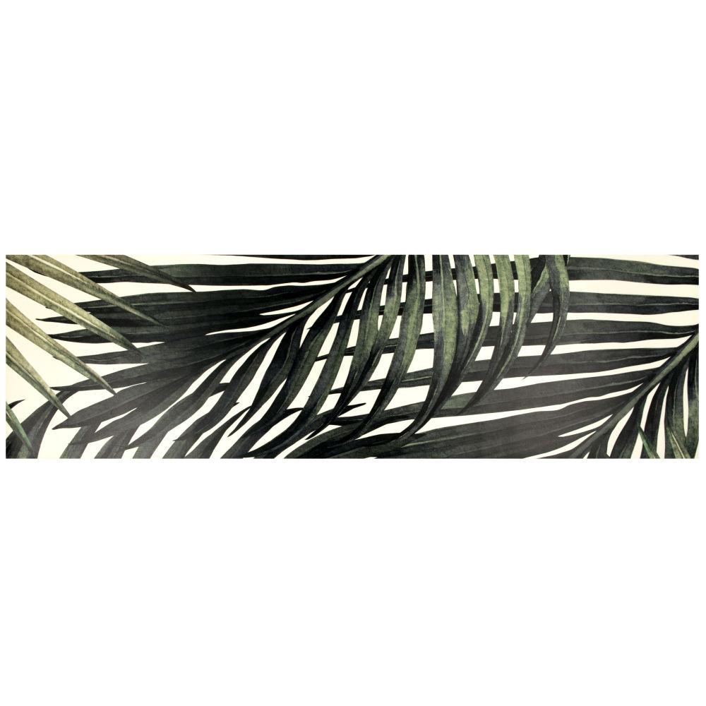 Tapijt Van Vinyl Met Tropische Bladerenprint 60x199