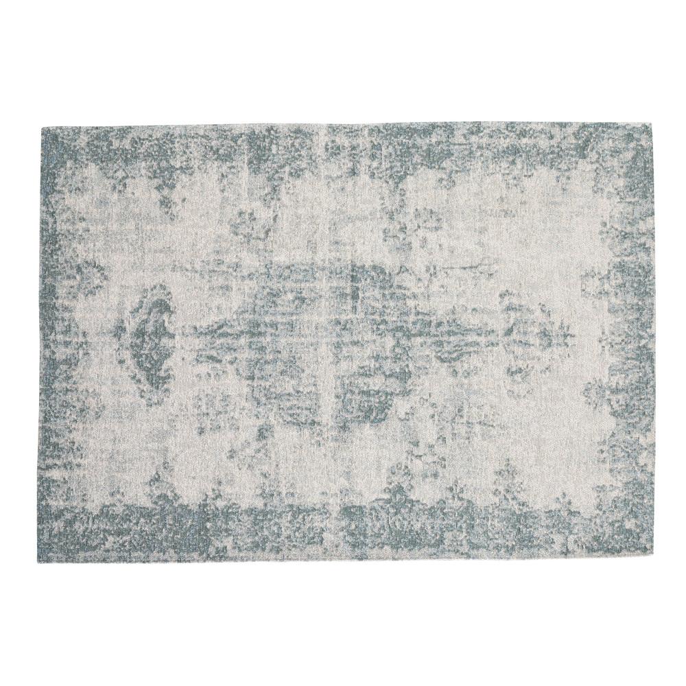 Tapis bleu 140 x 200 cm