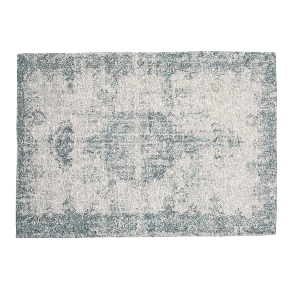 Tapis bleu 155 x 230 cm