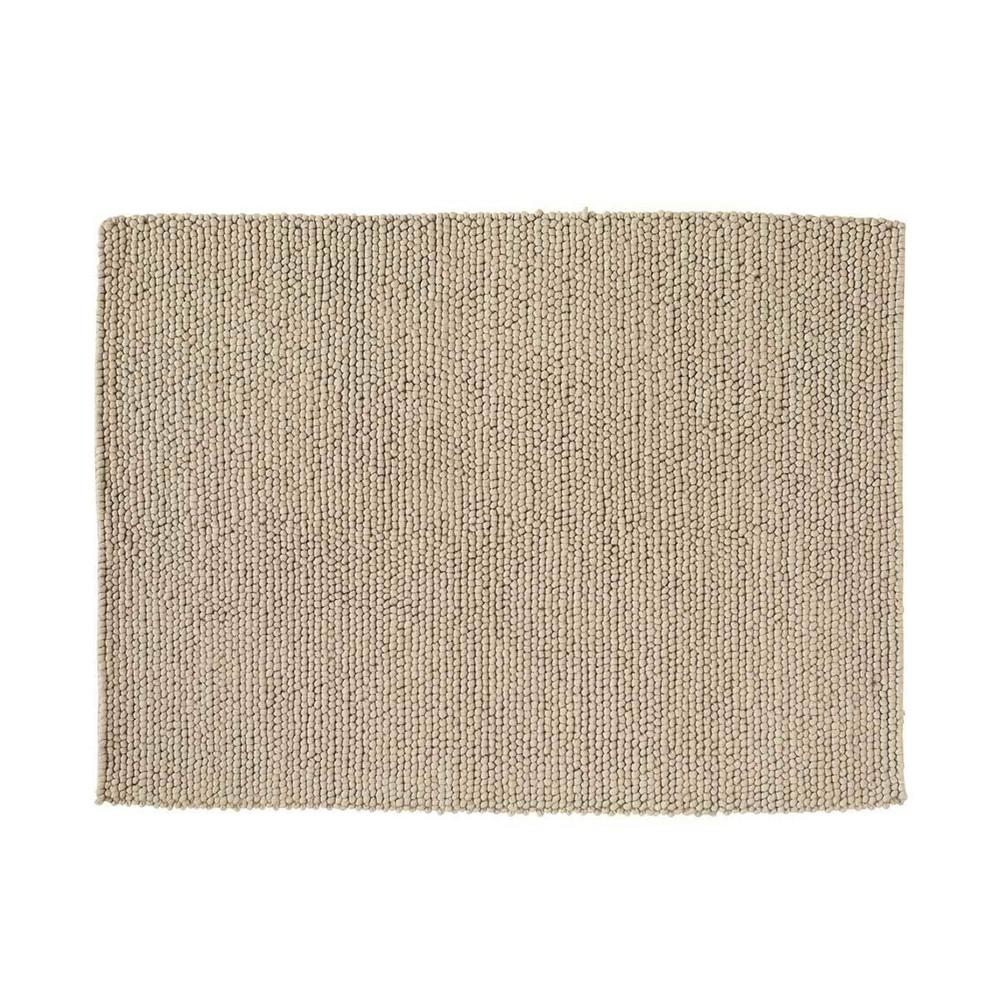 Tapis en laine beige 140x200