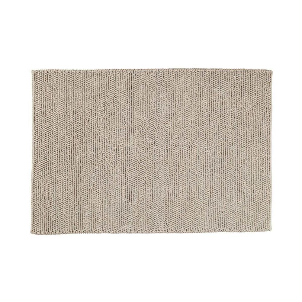 Tapis en laine beige 200 x 300 cm