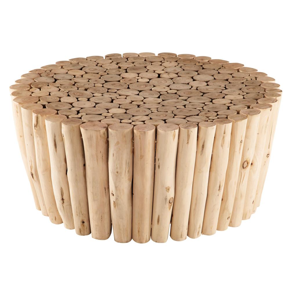 Tavolino da salotto in legno di eucalipto