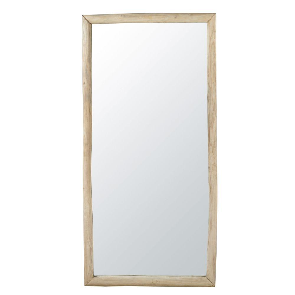 Teakhouten Spiegel 81 X 165 Cm