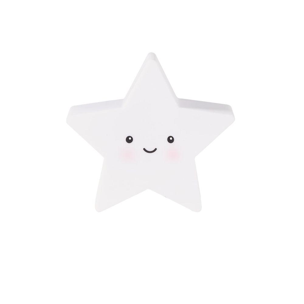 Veilleuse étoile blanche