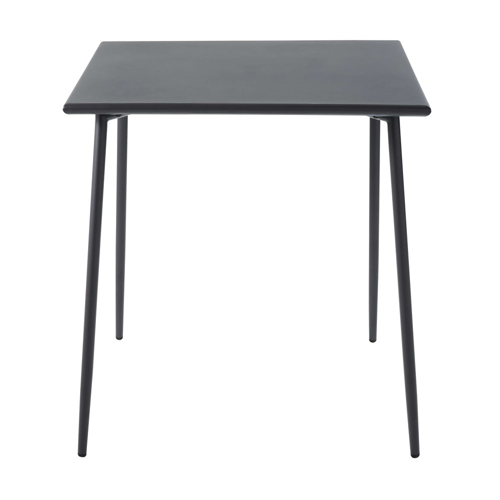 Vierkante Tuintafel Van Grijs Metaal L70
