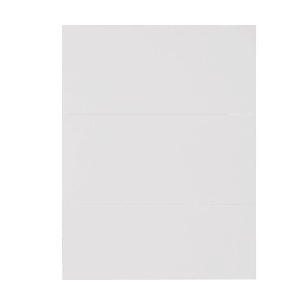 Witte Deur Voor Modulair Bureaukastje, 50 X 67 Cm