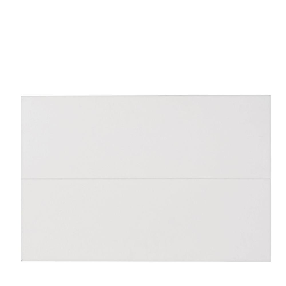 Witte Deur Voor Modulair Bureaukastje, 70 X 47 Cm
