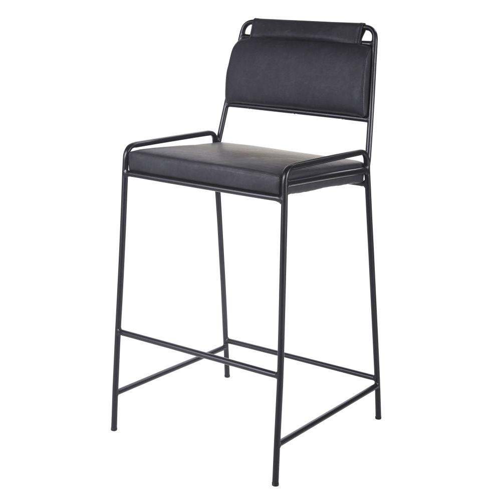 Zwarte Barstoel Voor Professioneel Gebruik