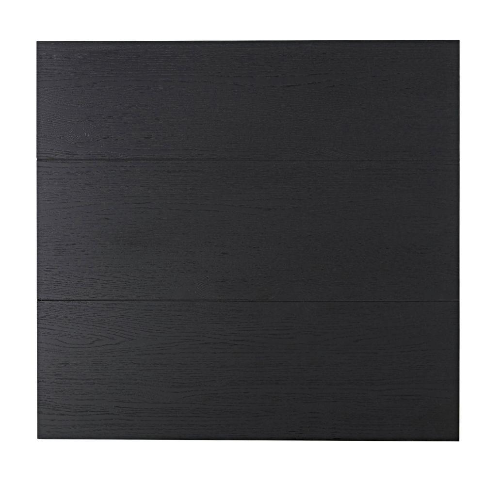 Zwarte Deur Voor Modulair Bureaukastje, 70 X 67 Cm