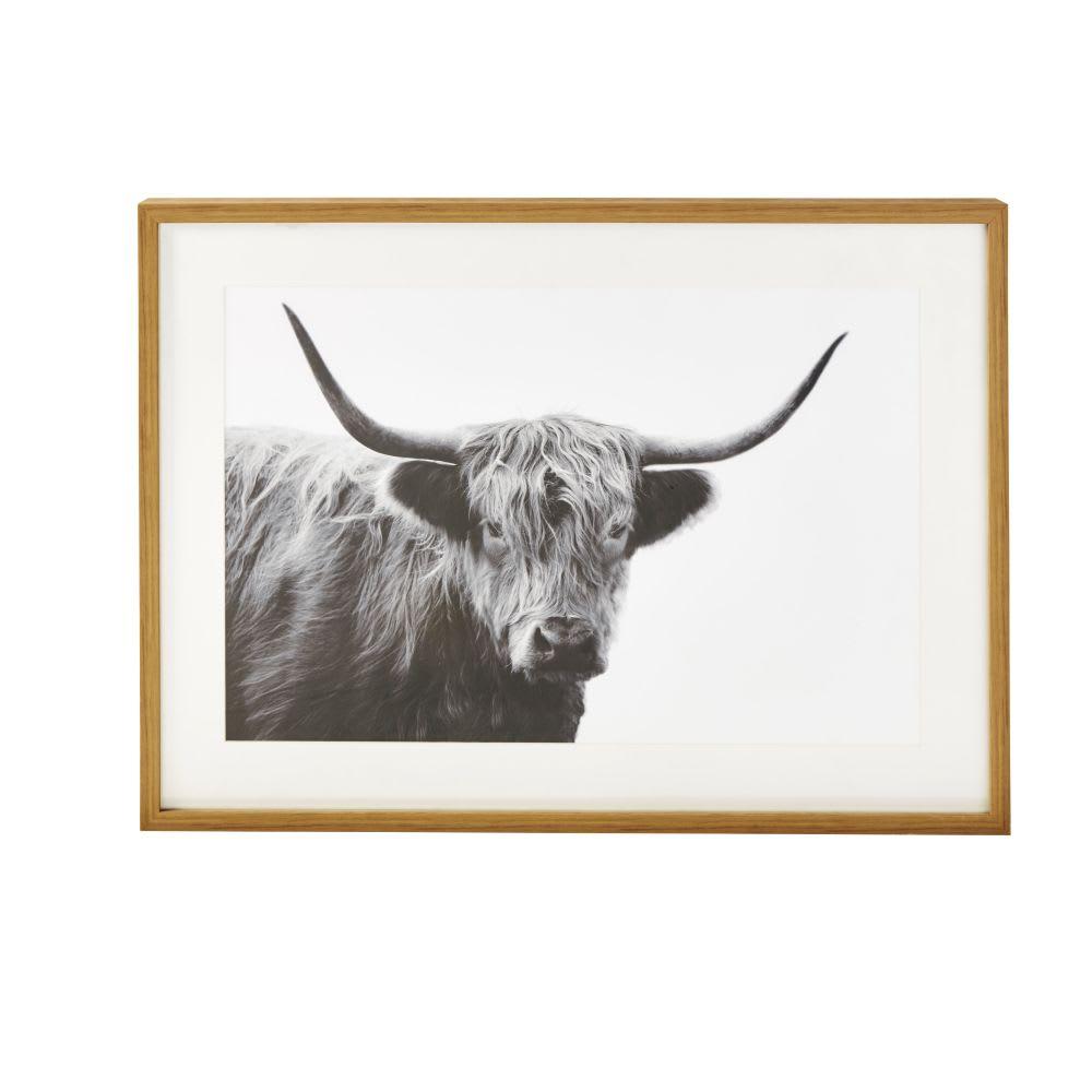 Monde Impresión HighlandMaisons Con Vaca Cuadro 111x81 Du De rQWCxBode