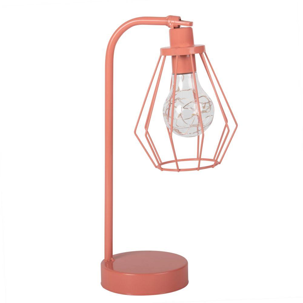 Led Lampe En Rose Support Métal ZiXPuOkT
