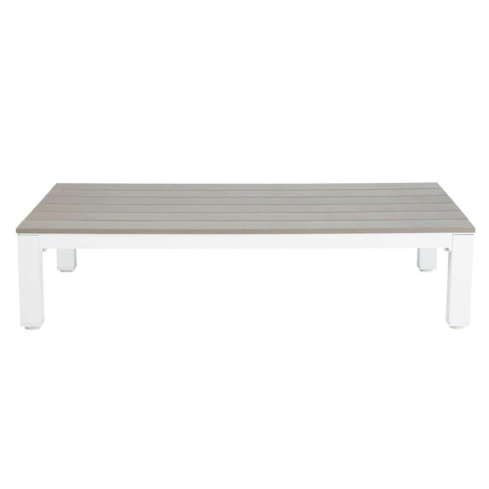 En Composite Basse De Jardin Et Aluminium Table J3ulKTFc1