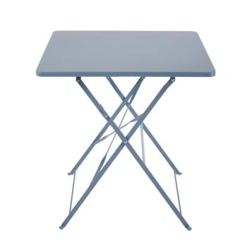 L70 Table De Pliante Gris 2 Métal Personnes En Époxy Jardin Nm8Oyv0wn