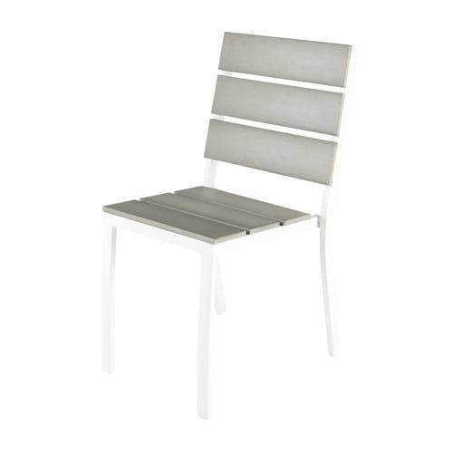 Chaise En De Composite Jardin Et Aluminium rWdCoBEeQx