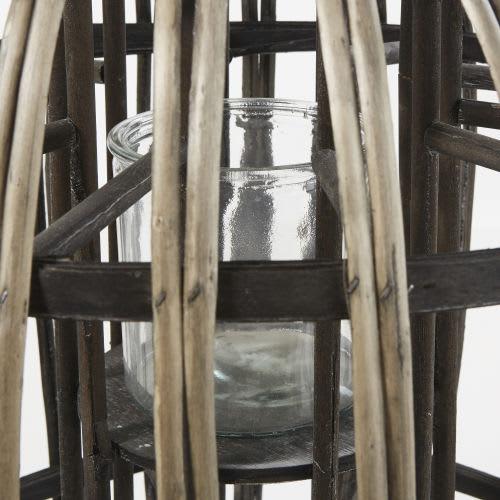 Lanterne Marron En En Lanterne Lanterne Marron Rotin Rotin nNm80w