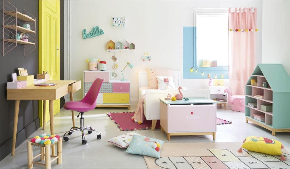 Commode enfant multicolore berlingot maisons du monde