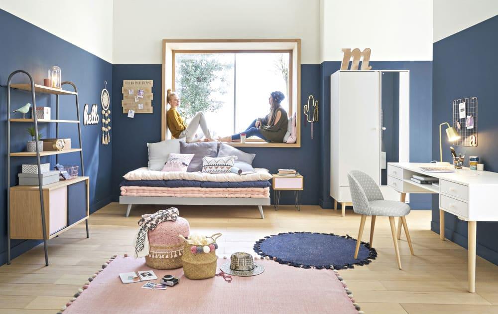 Schreibtisch mit schubladen weiß joy maisons du monde
