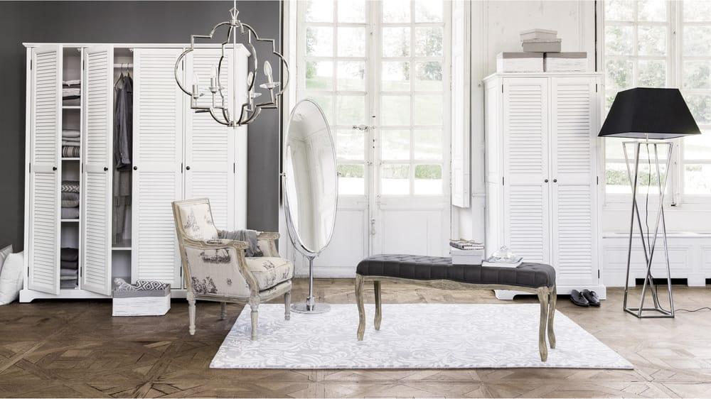 Dressing portes blanc barbade maisons du monde