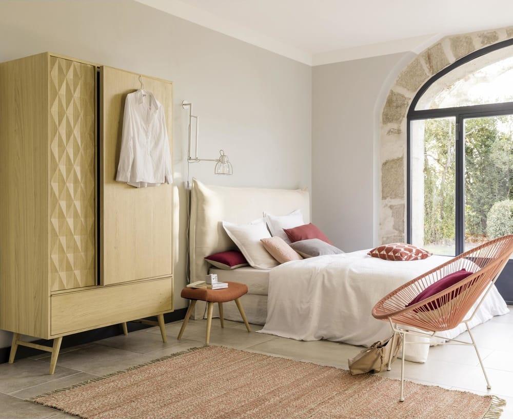 Testata da letto sfoderabile cm soft maisons du monde