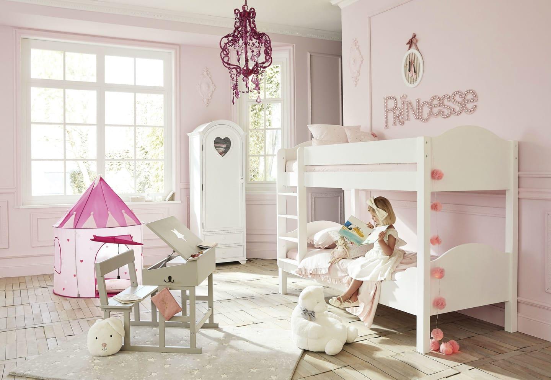 Letto A Castello Principesse.Cameretta Da Bambina Idee Per Una Stanza Da Principessa Maisons