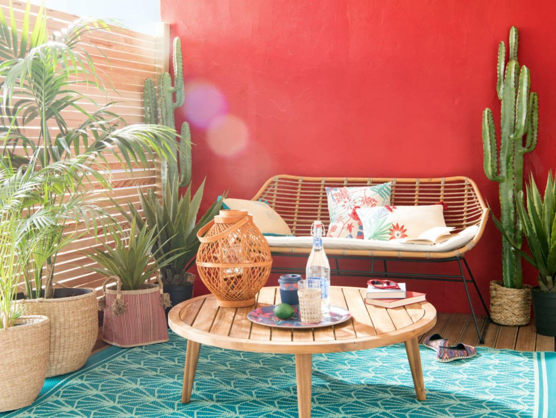 Aménager Son Balcon Avec Des Palettes comment aménager et décorer son balcon | maisons du monde