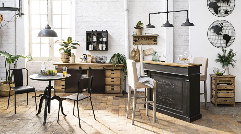 Séparation De Cuisine Bar comment aménager un coin bar dans la cuisine ? | maisons du