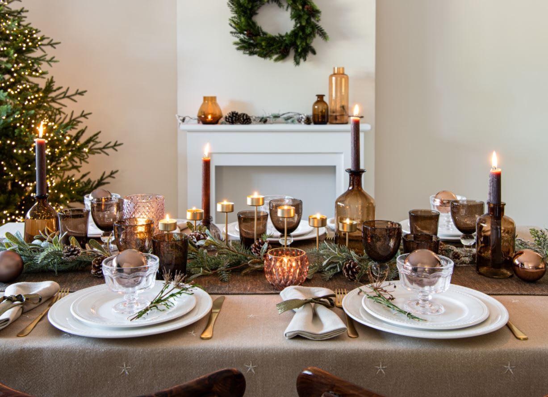 Nos idées de déco de table pour Noël  Maisons du Monde