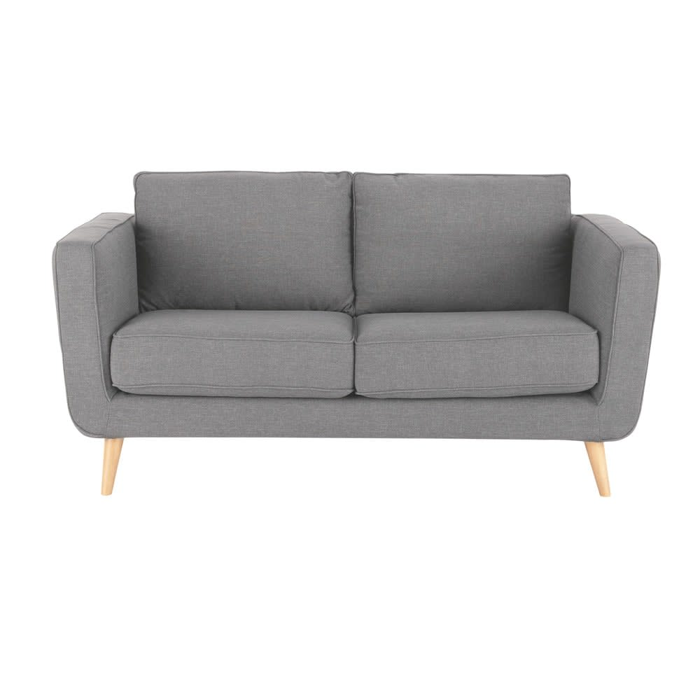 23 Sitzer Sofa Hellgrau Nils Maisons Du Monde