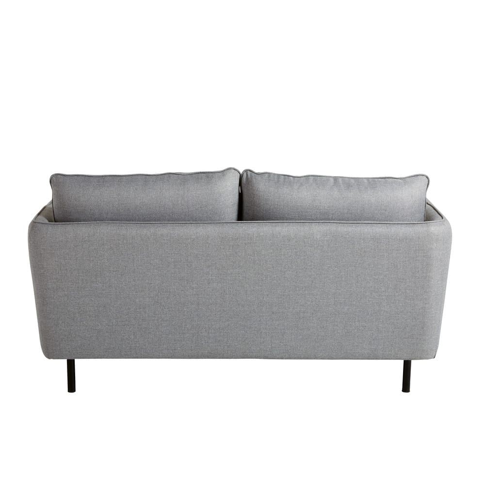 2 sitzer sofa hellgrau kaito maisons du monde. Black Bedroom Furniture Sets. Home Design Ideas