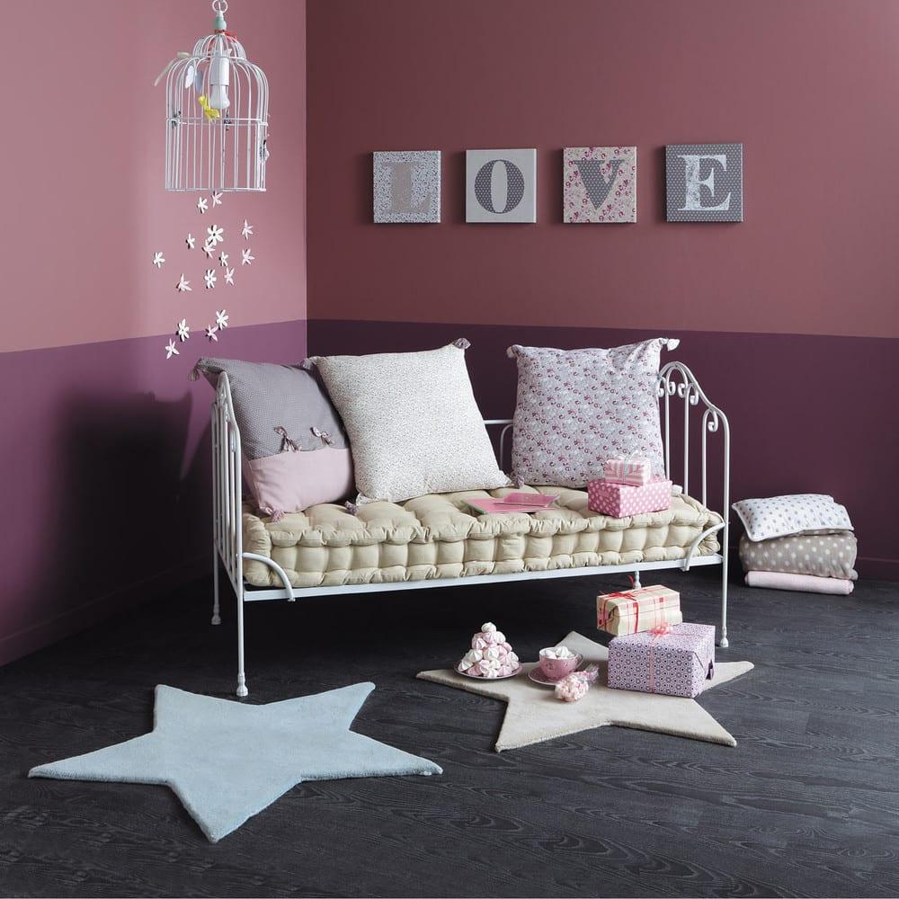 3 cuscini materasso in cotone pimprenelle maisons du monde for Cuscini materasso arredo