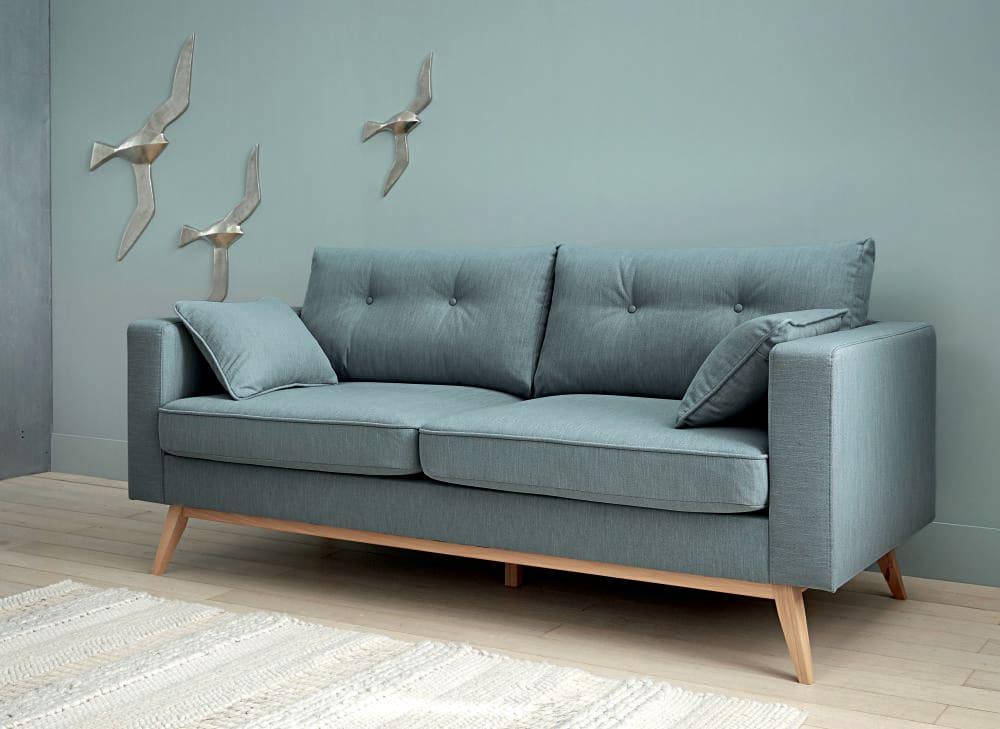 3 sitzer sofa im skandinavischen stil eisblau brooke for Sofa orientalischer stil