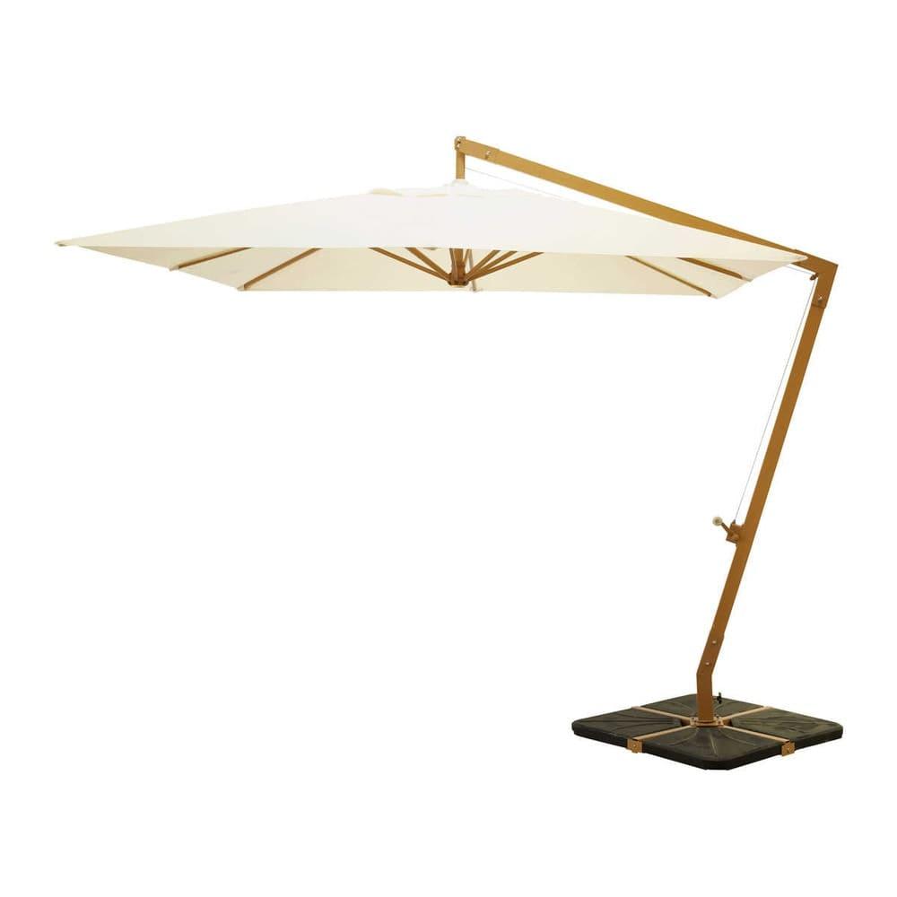 Aluminium cantilever parasol in ecru Camberra | Maisons du Monde