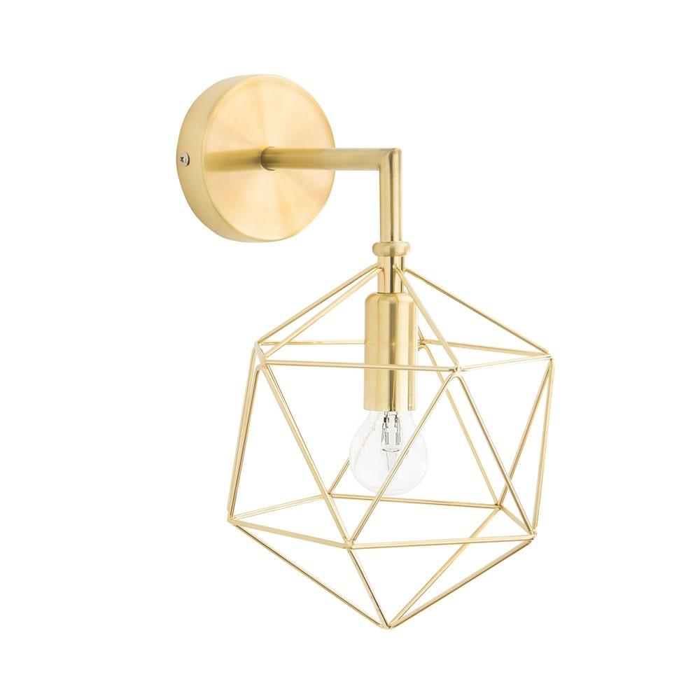 applique en m tal dor diamond maisons du monde. Black Bedroom Furniture Sets. Home Design Ideas