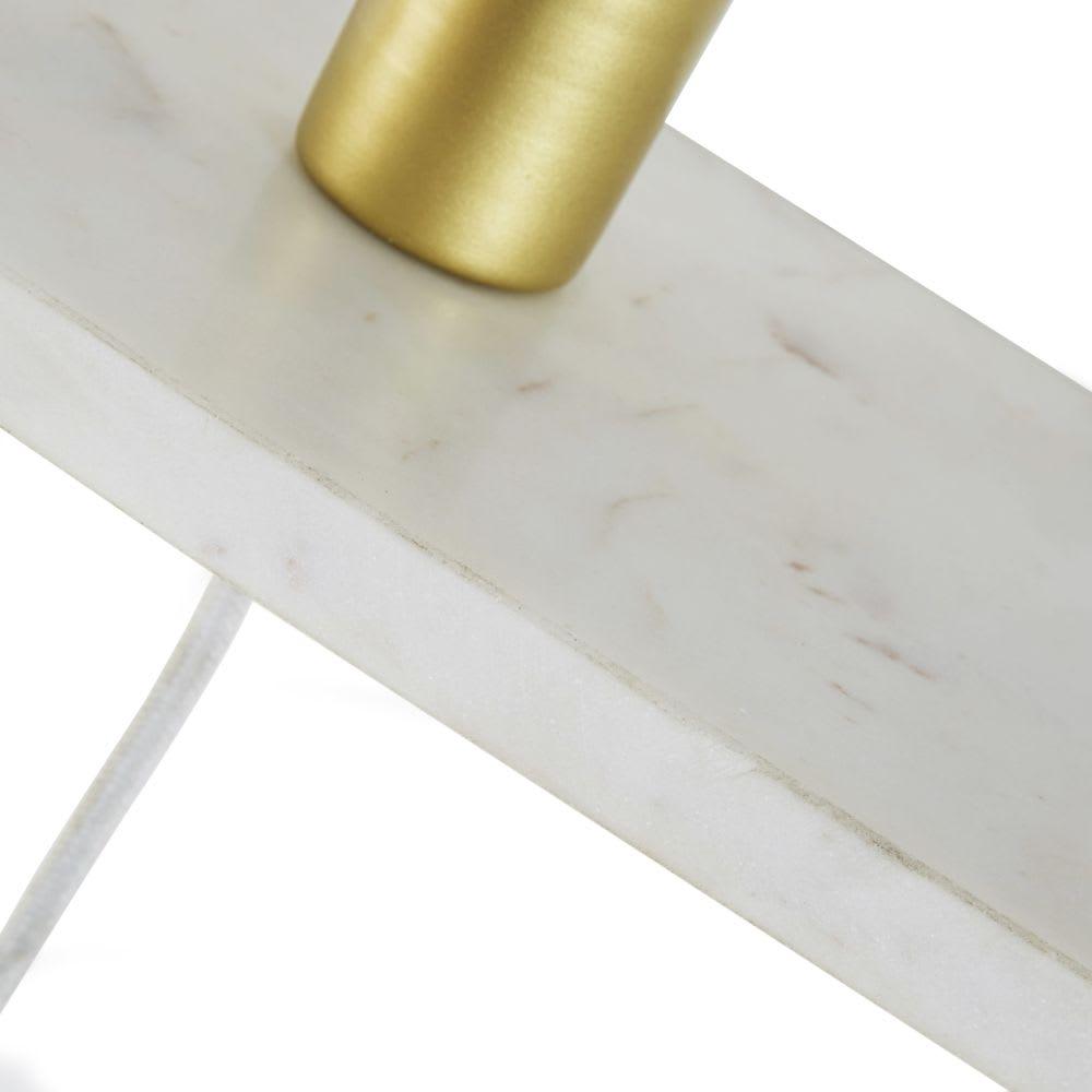 applique tag re en marbre blanc marble maisons du monde. Black Bedroom Furniture Sets. Home Design Ideas