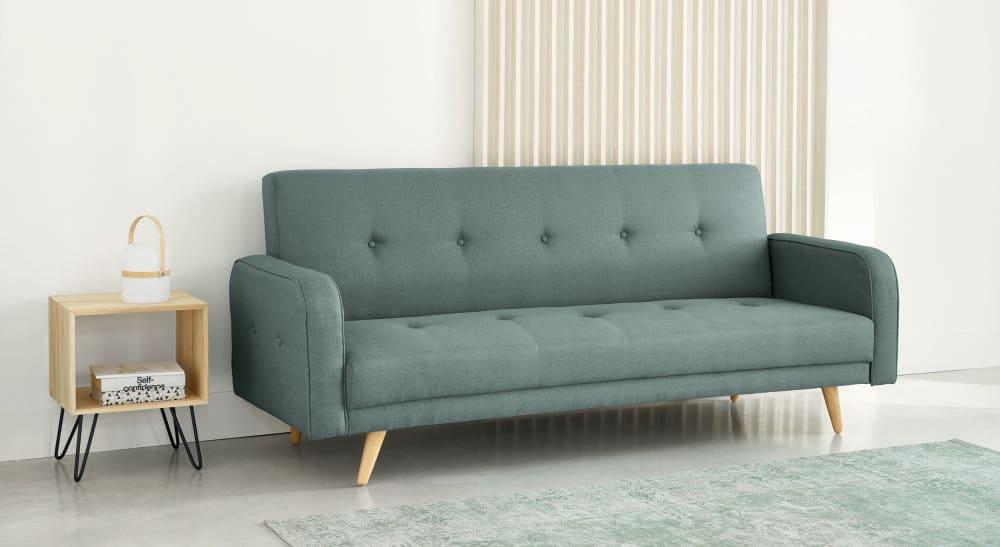 Aqua 3 Seater Clic Clac Sofa Bed Broadway Maisons Du Monde