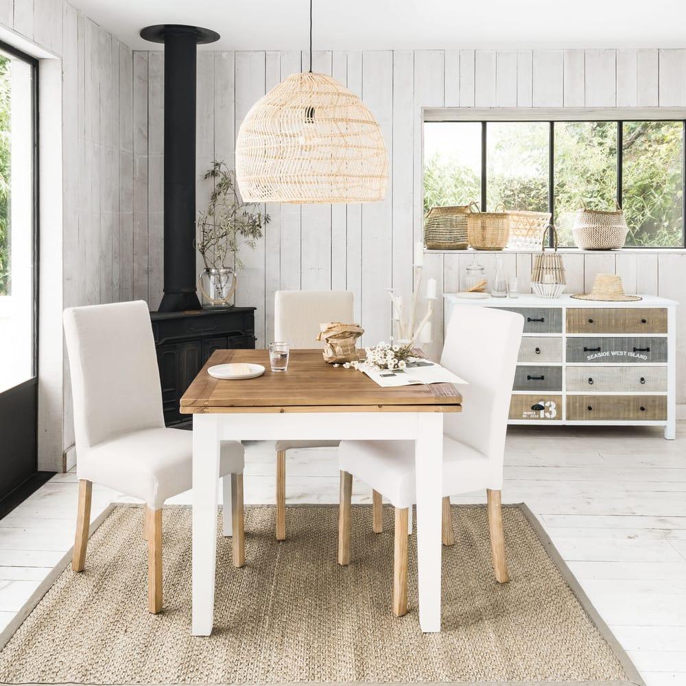 ausziehbarer esstisch 4 bis 8 personen l90 180 provence. Black Bedroom Furniture Sets. Home Design Ideas