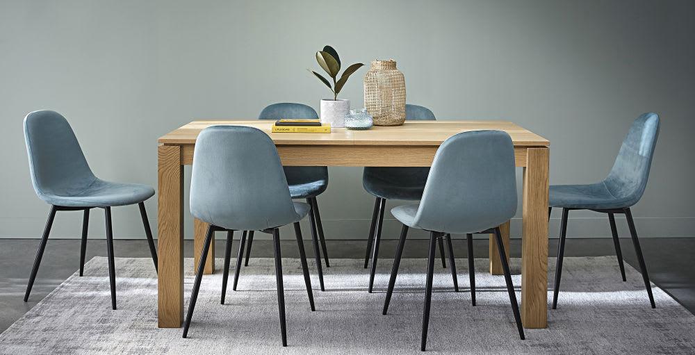ausziehbarer esstisch 6 bis 10 personen l160 240 danube. Black Bedroom Furniture Sets. Home Design Ideas