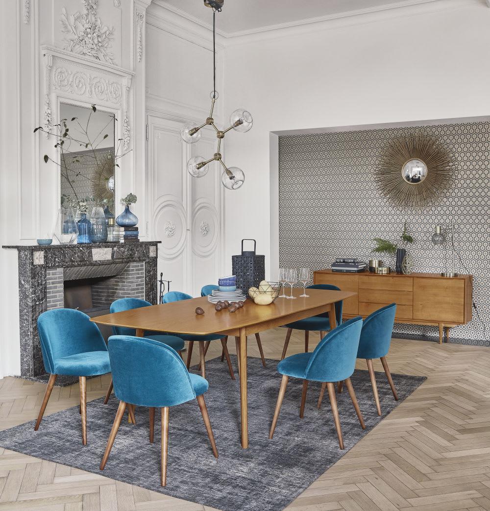 ausziehbarer esstisch 8 10 personen aus eiche l180 b240. Black Bedroom Furniture Sets. Home Design Ideas