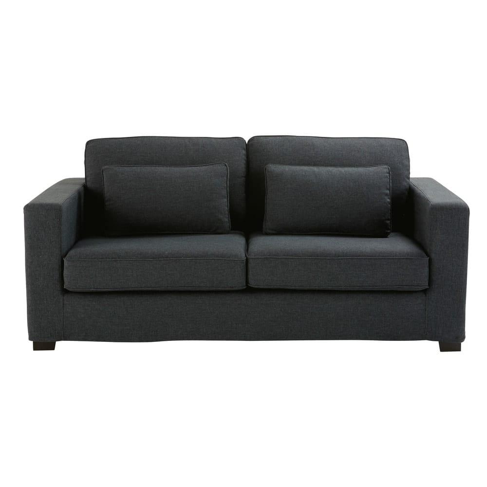 Ausziehbares 23 Sitzer Sofa Anthrazitgrau Matratze 12 Cm Milano