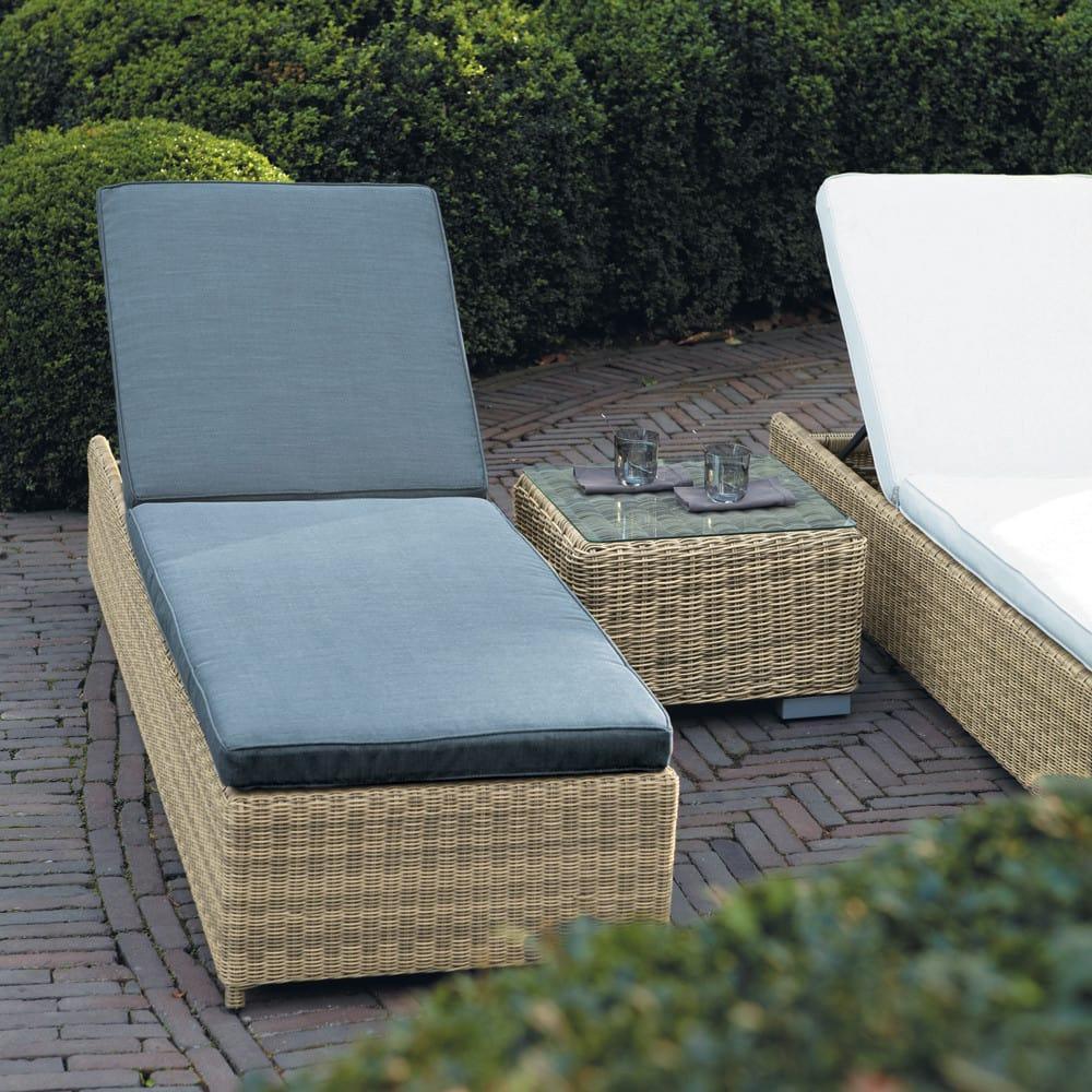 bain de soleil en r sine tress e st rapha l maisons du monde. Black Bedroom Furniture Sets. Home Design Ideas