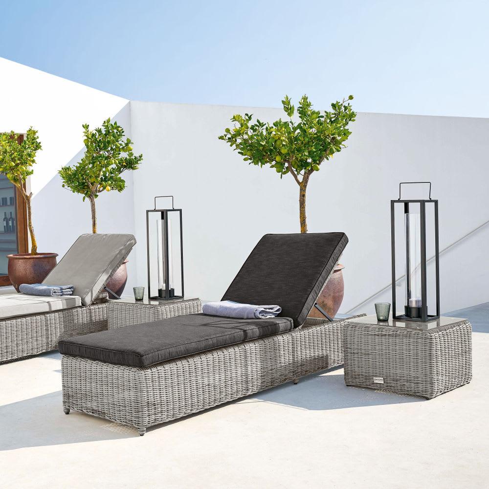 bain de soleil en r sine tress e grise cape town maisons. Black Bedroom Furniture Sets. Home Design Ideas