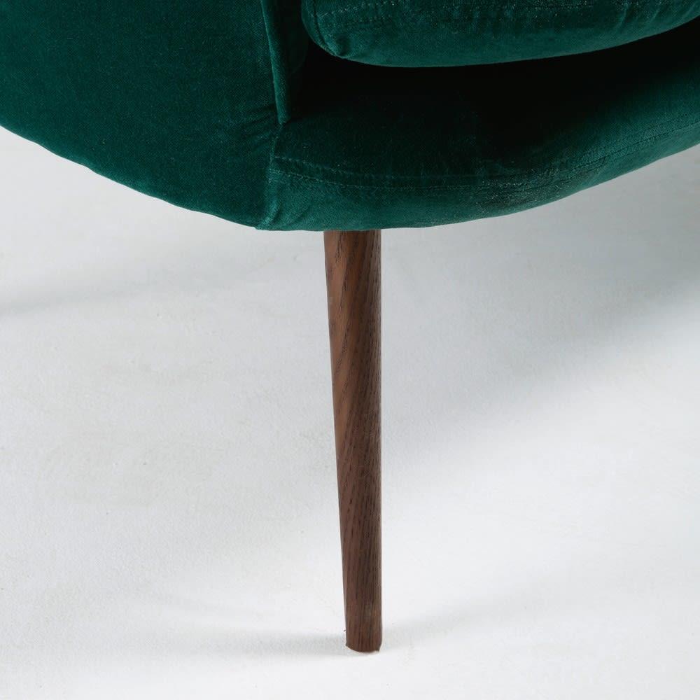 banquette 2 places en velours vert sacha maisons du monde. Black Bedroom Furniture Sets. Home Design Ideas