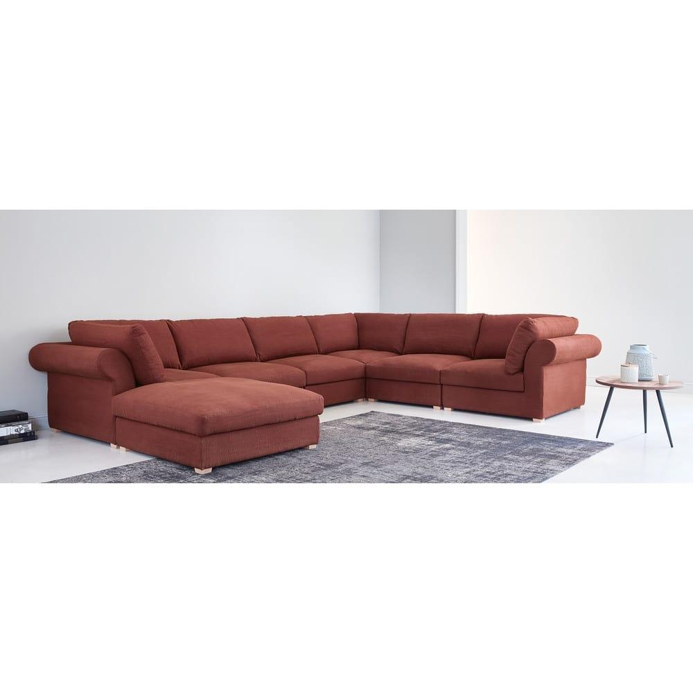 beistelltisch aus mangoholz und schwarzem metall melchior. Black Bedroom Furniture Sets. Home Design Ideas