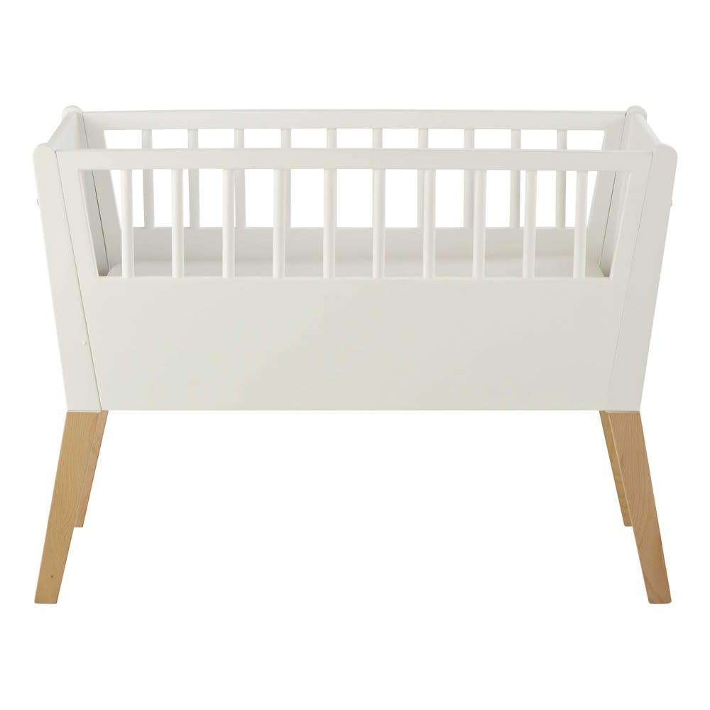 Berceau bébé blanc L 95 cm Sweet | Maisons du Monde
