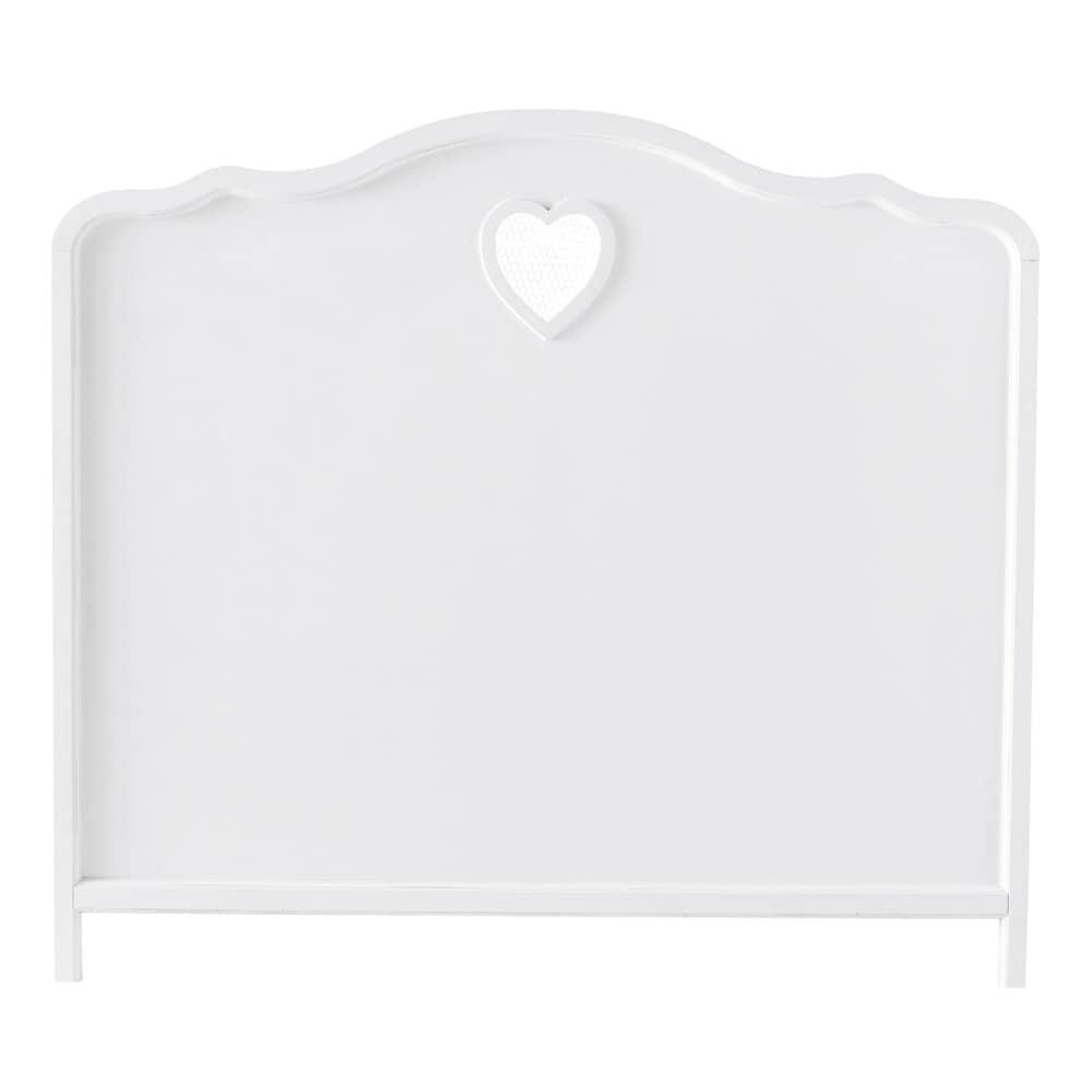 bett kopfteil b 140 cm wei valentine maisons du monde. Black Bedroom Furniture Sets. Home Design Ideas