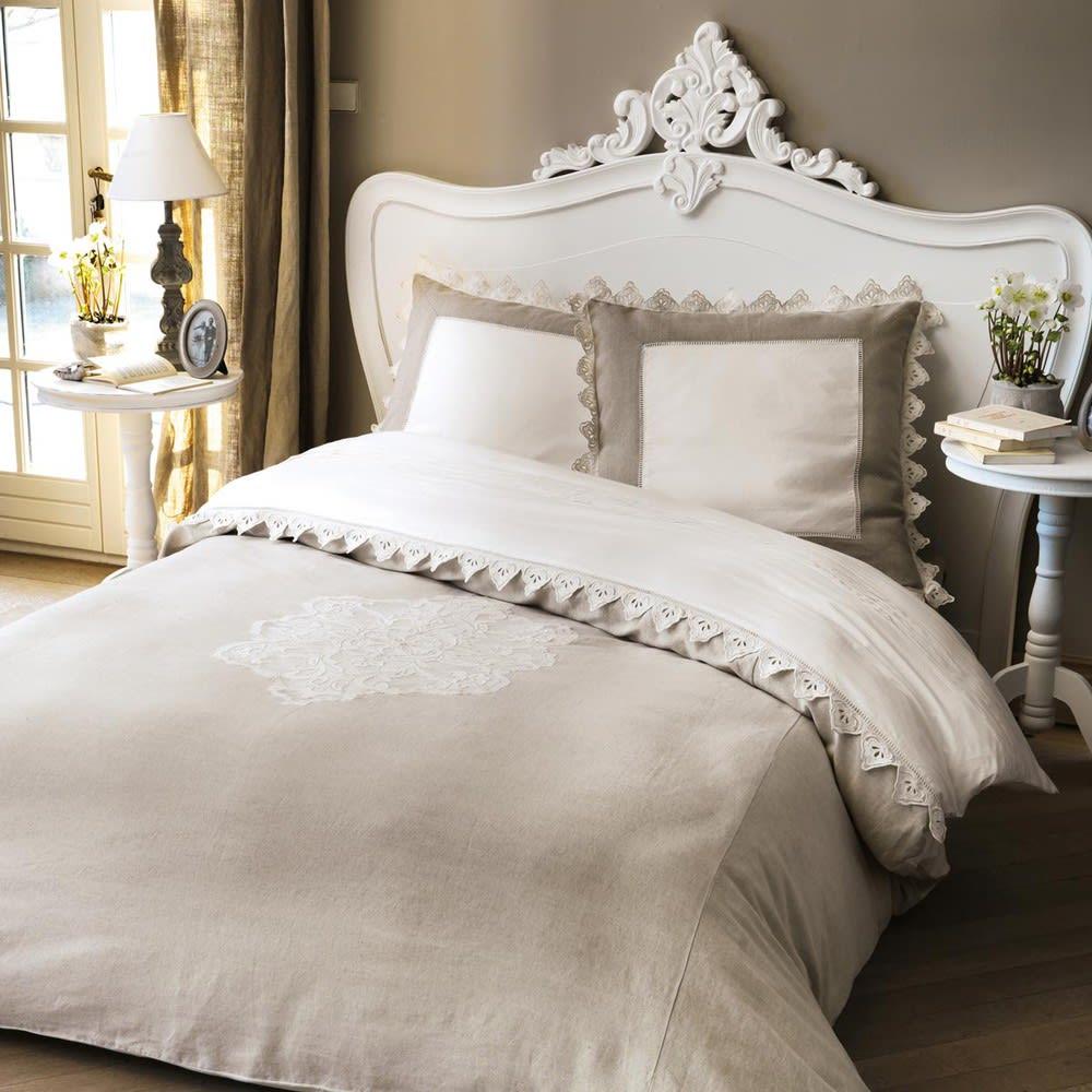 Bett Kopfteil B 160 Cm Weiß Comtesse Maisons Du Monde