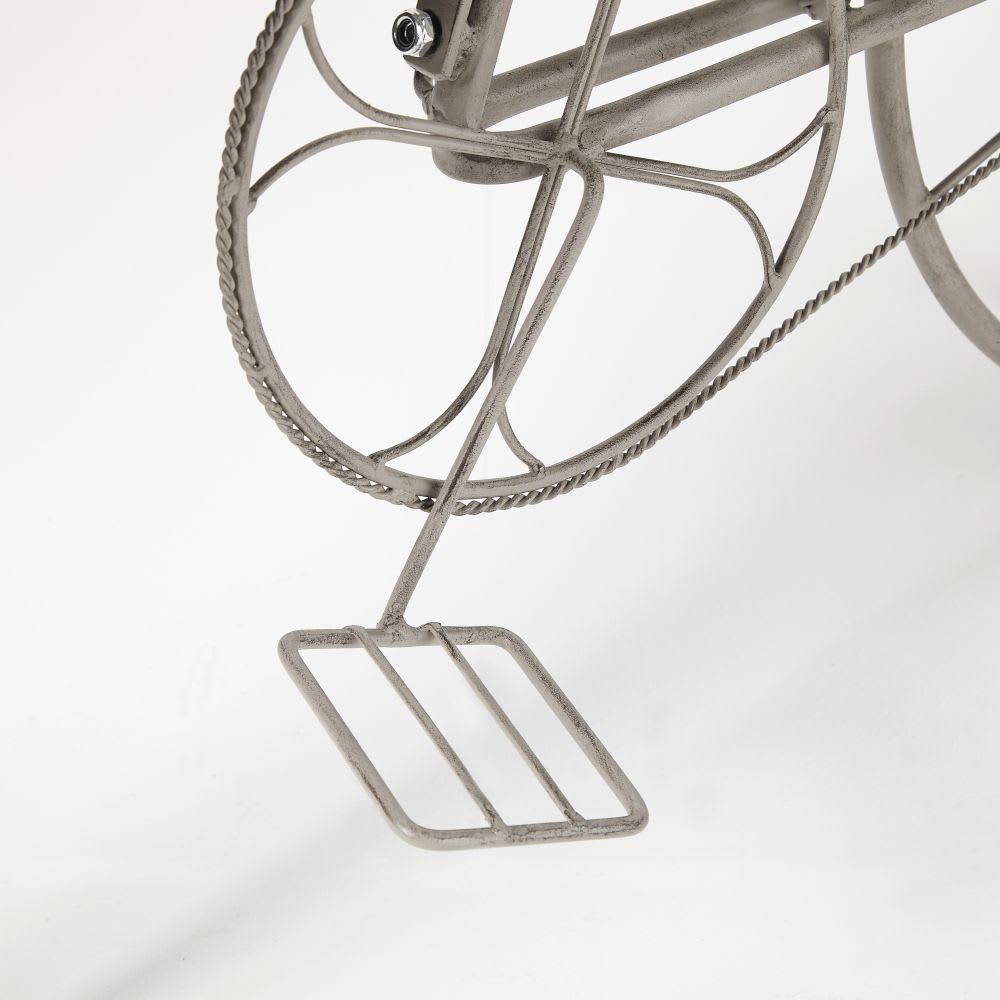 Blumenregal Aus Metall : blumenregal fahrrad aus metall grau mit alterungs effekt ~ Yuntae.com Dekorationen Ideen